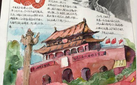 中国共产建党100周年手抄报