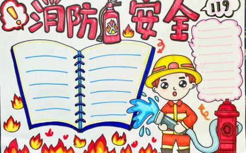 消防安全手抄报高清图片