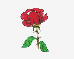 简单又可爱简笔画优秀作品 小花朵怎么画最简单